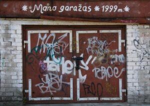 mano garažas 1999