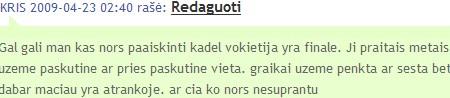 komentaro screenshot