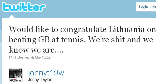 Great Britain tennis results