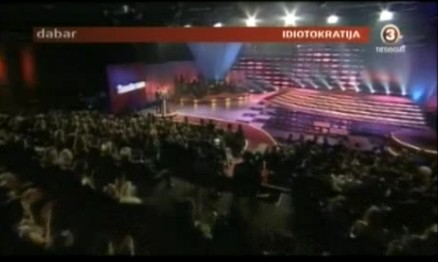 """TV3 """"ŽMONIŲ"""" APDOVANOJIMUS PAVADINO IDIOTOKRATIJA"""
