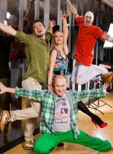 """Jurijus Smoriginas laidoje """"Tu gali šokti"""""""