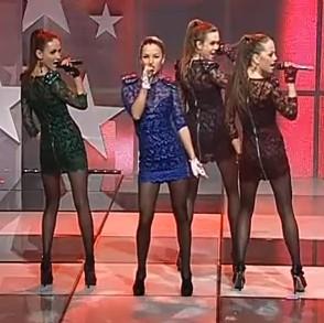 """Kadras iš TV3 renginio """"Vaikų balsas"""""""
