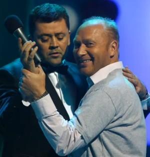 """Vytautas Šapranauskas ir Jurijus Smoriginas TV3 laidoje """"Šok su manimi"""""""