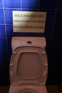Do not drink, please