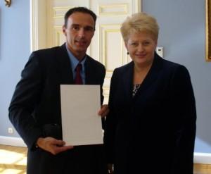 Dalia Grybauskaitė, Tomas Kairys