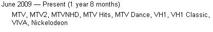MTV, VESELIS IR SUDEGINTI TILTAI