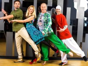 """Kadras iš TV3 laidos """"Tu gali šokti"""""""