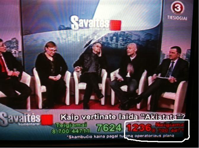 TV3 laida Savaitės komentarai