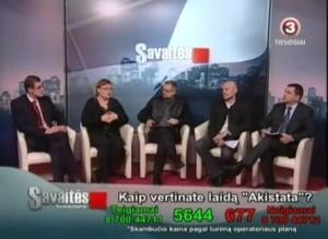 """TV3 laida """"Savaitės komentarai"""""""
