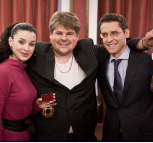 """Kristijonas Bartoševičius, Laura Imbrasienė, Rolandas Vilkončius laidoje """"Dviračio žvaigždė"""""""