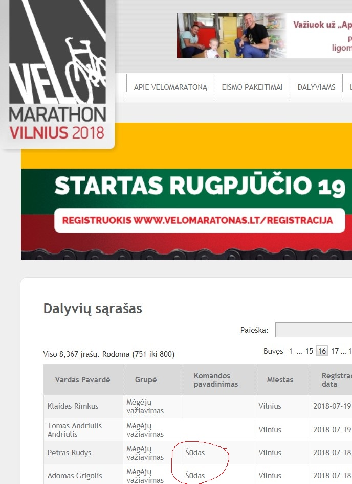 Marathon Vilnius